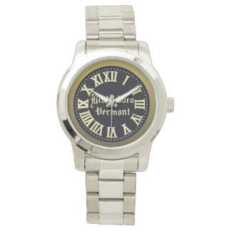 Reloj de la calle principal de Brattleboro