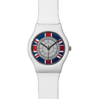 Reloj de la cara de reloj de Big Ben de la ciudad
