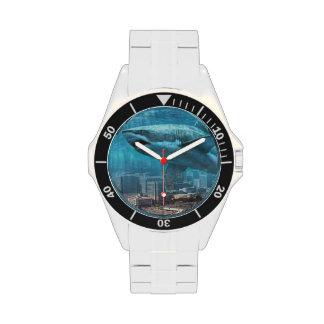Reloj de la ciudad del tiburón