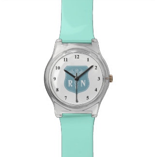 Reloj de la enfermera registradoa del RN con