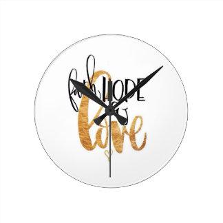 Reloj de la fe, de la esperanza y del amor