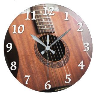 Reloj de la guitarra