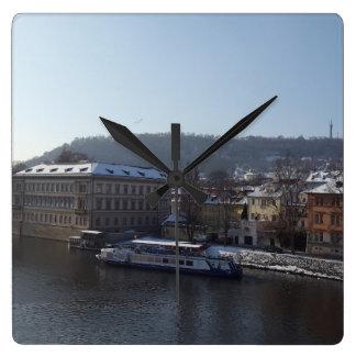Reloj de la isla de Střelecký, Praga