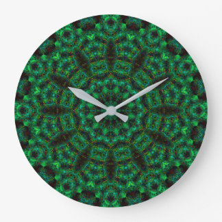 Reloj de la mandala de Dodecagram del bosque