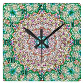 Reloj de la mandala del Granola de Greenwich