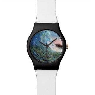 reloj de la onda de la playa