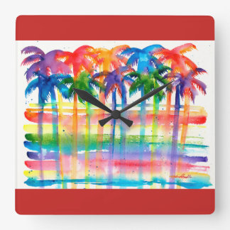 Reloj de la palmera