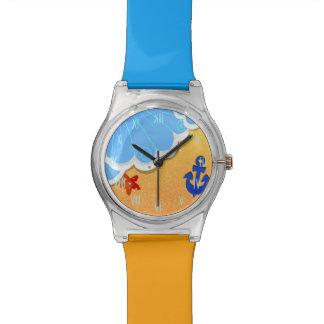 Reloj de la playa May28th del verano