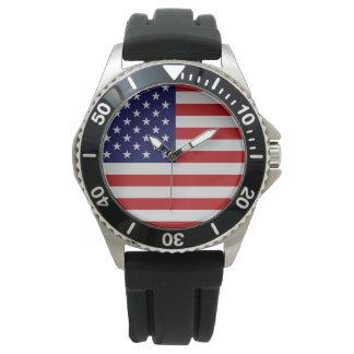 Reloj de la pulsera del acero inoxidable de la