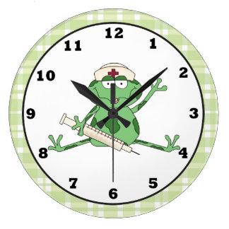 Reloj de la rana de la enfermera