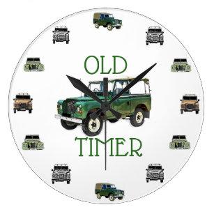 Reloj de la serie de Land Rover