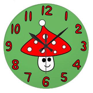Reloj de la seta del gorra de Santa