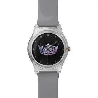 Reloj de la Srta. América lavanda corona el 28 de