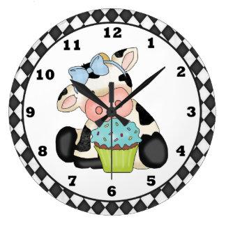 Reloj de la vaca de la magdalena