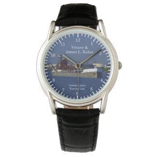 Reloj de la victoria y de James L. Kuber