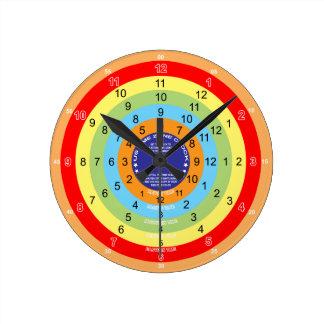 Reloj de la zona horaria