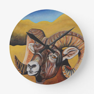 Reloj de las ovejas del Big Horn