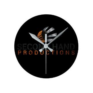 Reloj de las producciones de la segunda mano
