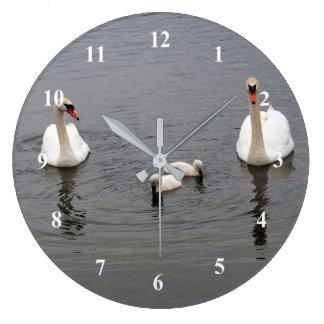 Reloj de los cisnes 416