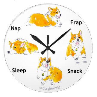 Reloj de los Corgi-Tiempos