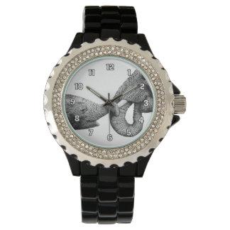 Reloj de los elefantes africanos