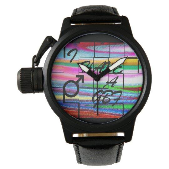 Reloj de los regalos GBF de LGBT