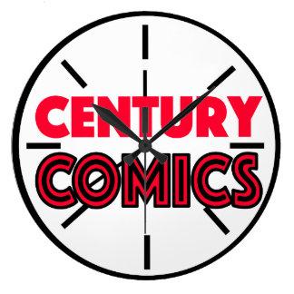 Reloj de los tebeos del siglo