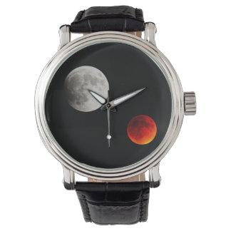 reloj de luna de la sangre