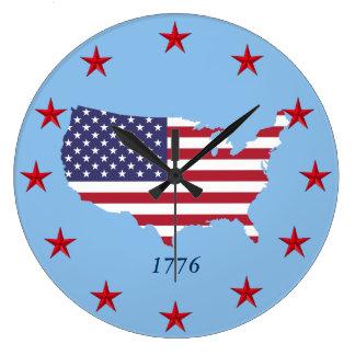 Reloj de pared americana
