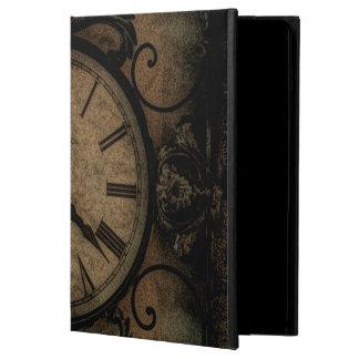 Reloj de pared antiguo gótico del vintage funda para iPad air