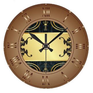 Reloj de pared de acrílico de los números romanos