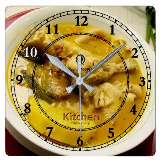 Reloj de pared de acrílico del diseñador moderno