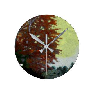 Reloj Redondo Mediano Reloj de pared de acrílico (medio) 13 redondos