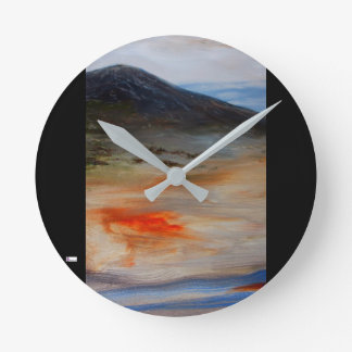 Reloj Redondo Mediano Reloj de pared de acrílico (medio) 14 redondos