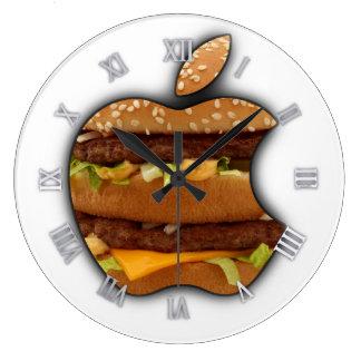 Reloj de pared de Apple del diseño de Macintosh