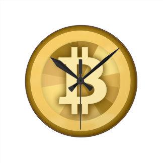 Reloj de pared de Bitcoin