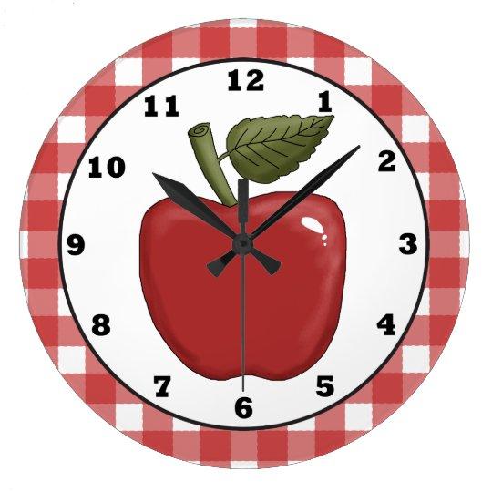 Reloj de pared de la cocina del dibujo animado de - Reloj cocina diseno ...