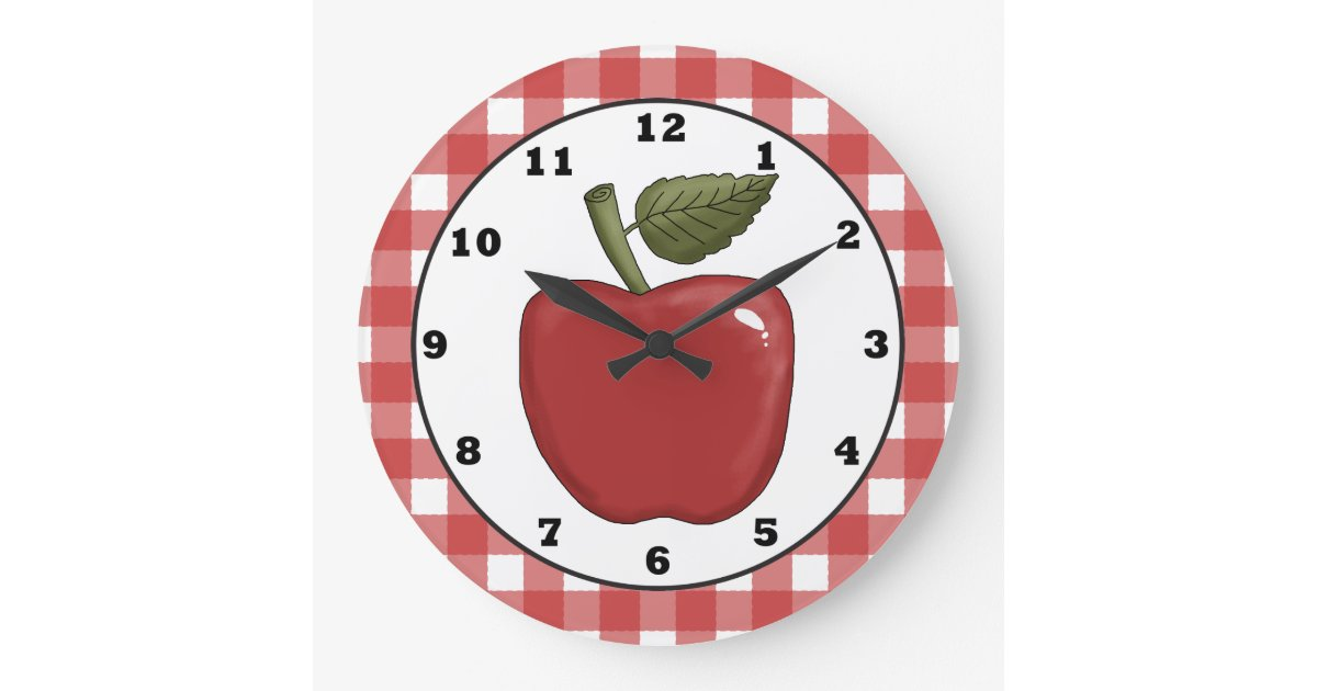 Reloj de pared de la cocina del dibujo animado de zazzle - Reloj de pared para cocina ...
