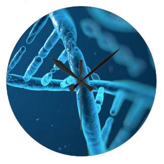 Reloj de pared de la DNA de la diversión