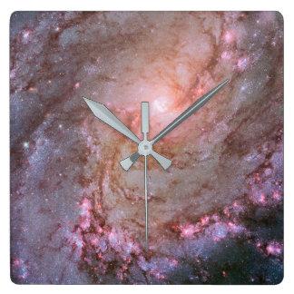 Reloj de pared de la galaxia el | del molinillo de
