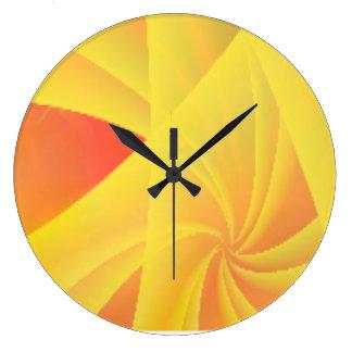 Reloj de pared de la limonada de la cereza