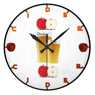 Reloj de pared de la sidra