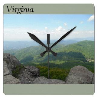 Reloj de pared de Virginia
