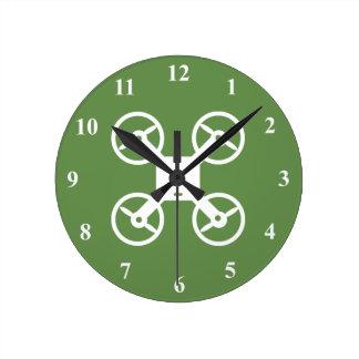 Reloj de pared del abejón