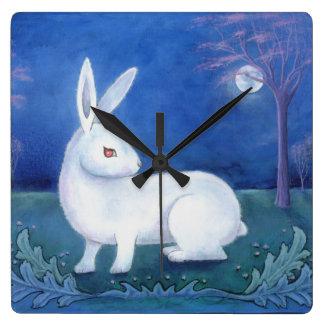 "Reloj de pared del ""conejo blanco"""