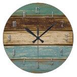 Reloj de pared del Driftwood