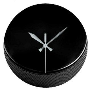Reloj de pared del duende malicioso de hockey