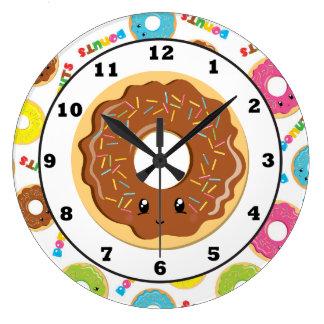 Reloj de pared del modelo de la tienda de buñuelo