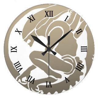 Relojes de pared dise o madera de - Reloj de pared de diseno ...