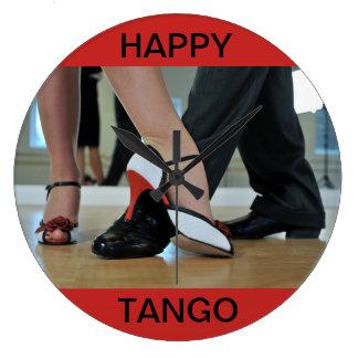 Reloj de pared FELIZ del TANGO